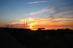 Sonnenuntergang Kieler Bucht