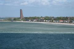 Strand in Laboe von der Wasserseite